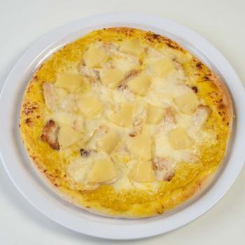 107 Hähnchen, Ananas, Currysauce