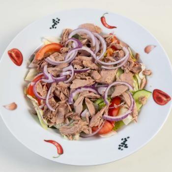 165 Salat Thunfisch, Rote Zwiebeln