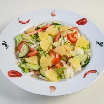 163 Salat Ananas